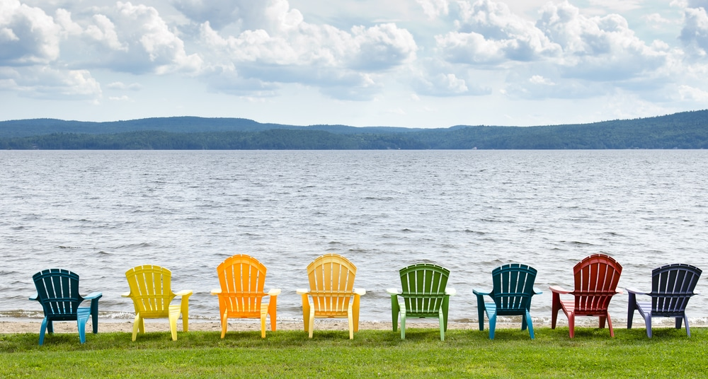 take care of your outdoor furniture this spring with real milk paint