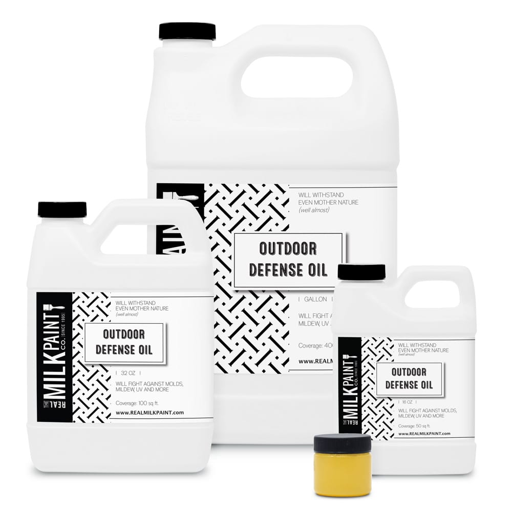 Home Finishing Oils Outdoor Defense Oil