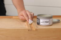 fix stubborn wood drawers with wax
